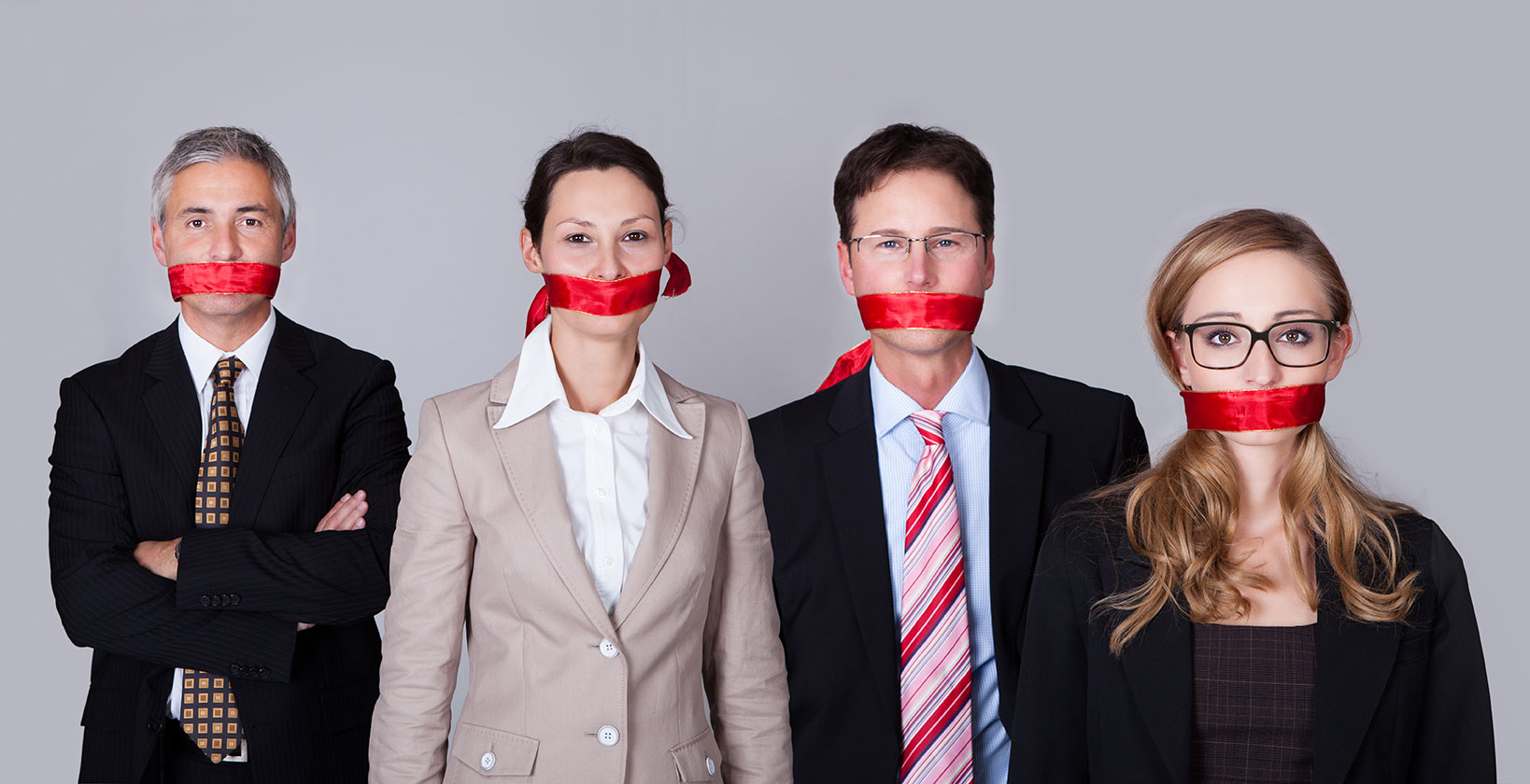 How to tackle silence within the business environment